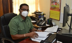 Head of the Guyana Forestry Commission's FLEGT Secretariat, Mr. Kenny David