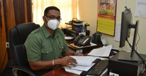 Head of the Guyana Forestry Commission's FLEGT Secretariat, Mr. Kenny David
