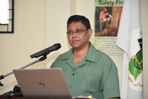 James Singh, GFC Commissioner.